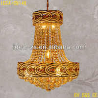 raw material light roofing sheet light hanging crystal chandelier