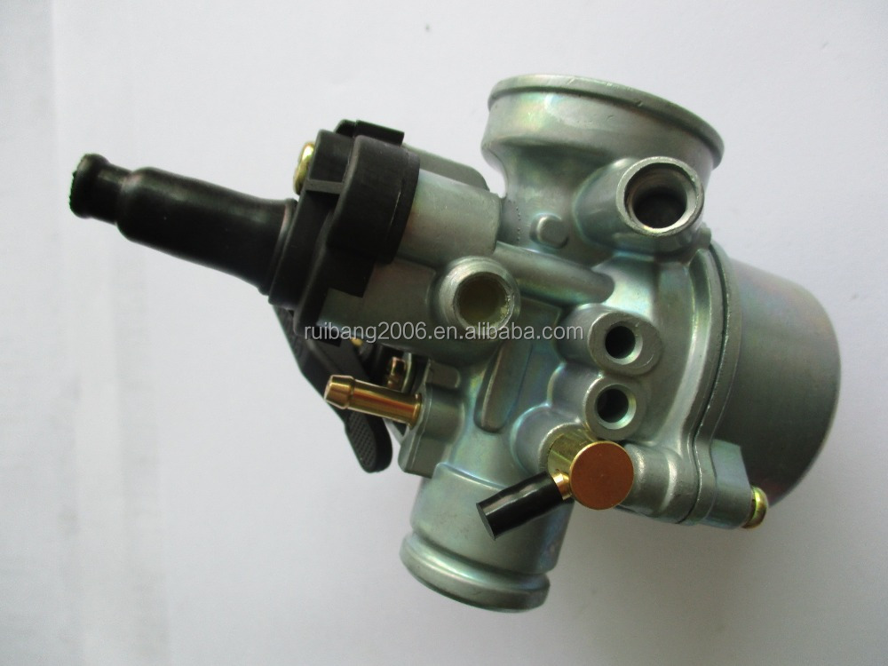 17.5mm DS CARBURETOR TOMOS A55 copied from DELLORTO PHVA Chinese carburetor factory 50cc 80cc carburetor