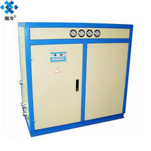 air to water heat exchanger cooling chiller with fan