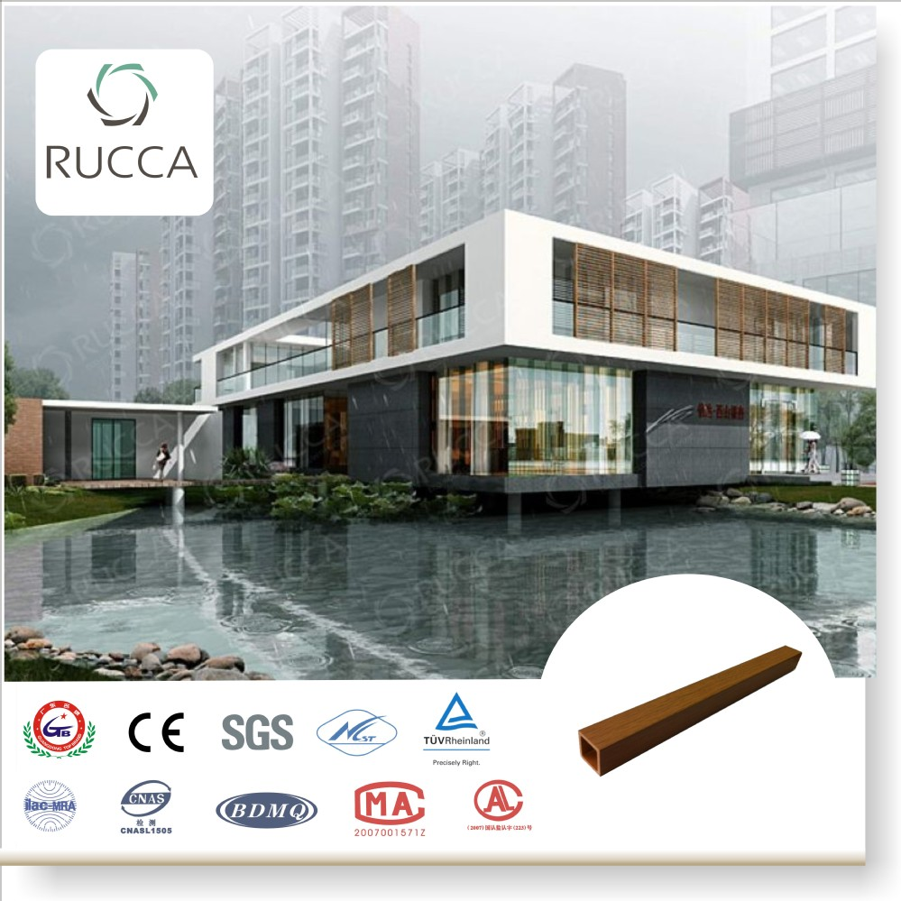 Rucca 2017 WPC Wood Composite Outdoor Decorative Wood ,Timber Logs from China Alibaba 30X30mm