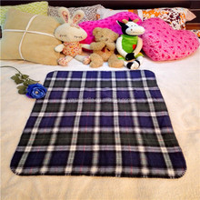 China supplier cheap plaid fabric cotton thermal baby blanket