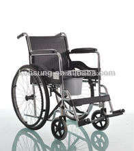 (SMW09) Electroplating steel manual wheelchair