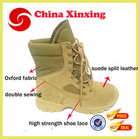 2016 Hot style suede cow leather breathable lining high quality cheap military desert boots