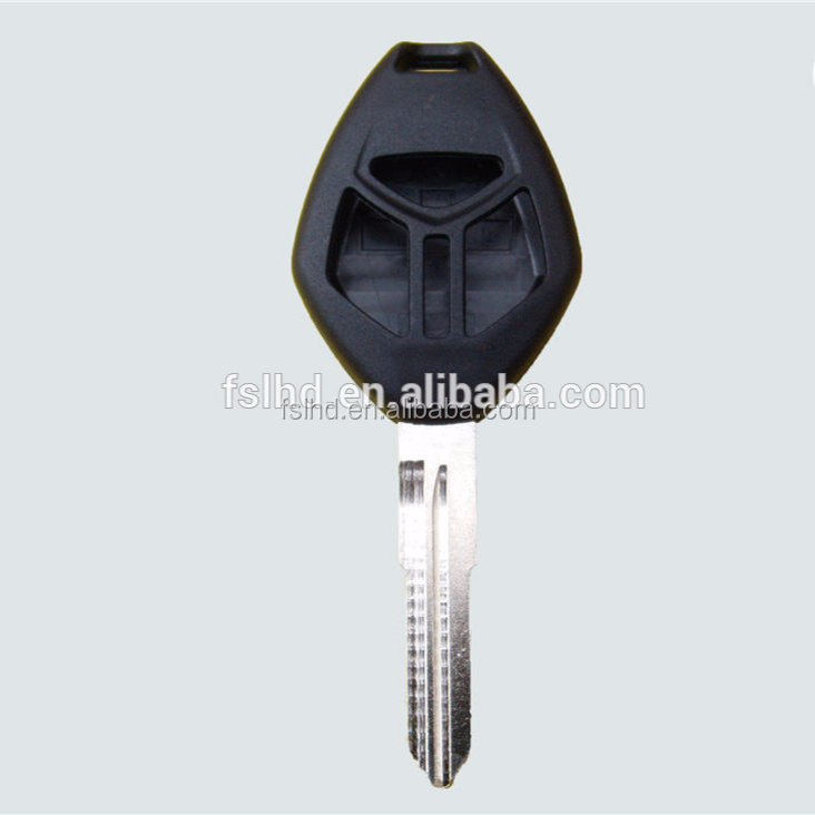 Replacement mitsubishi remote key cover for 3 Button remote fob case shell Mitsubishi Lancer Endeavor Outland key