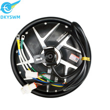 Electric motorcycle electric car brushless dc motor 10-inch wheel motor 2kw60v72v96v waterproof wheel motor/double hall sensor