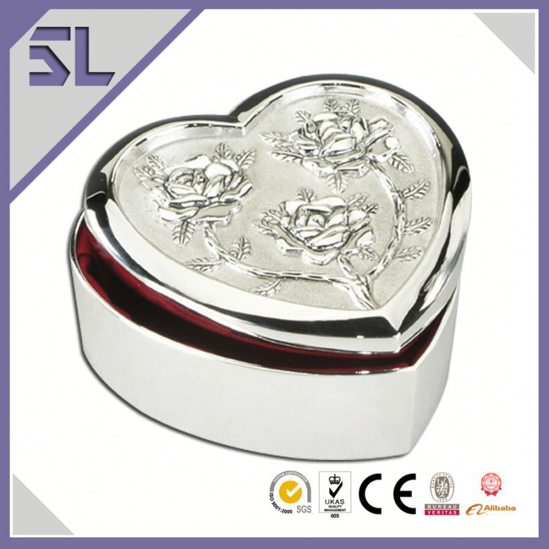 Cheap Silver Jewelry Turkey Wedding Jewelry Box India Custom Design Baby Keepsake Boxes