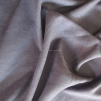 fashion luxury high quality polyester stripe microfiber velvet ultra suede fabric for sofa garment curtain upholstery