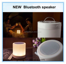 2015 New LED light blue tooth with handfree wireless mini bluetooth speaker