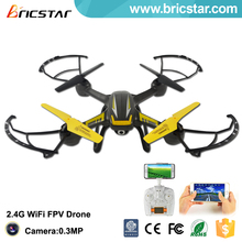 Mobile phone control 2.4G racing quadcopter fpv, fpv racing drone with camera and high set function