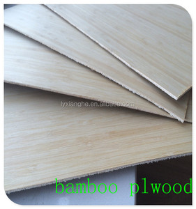 E1 Formaldehyde Emission Standards bamboo faced Plywood