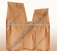 White Paper Food packaging bags