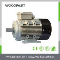 Aluminium housing 220v 1.5hp 3 phase induction electric 1450 rpm motor