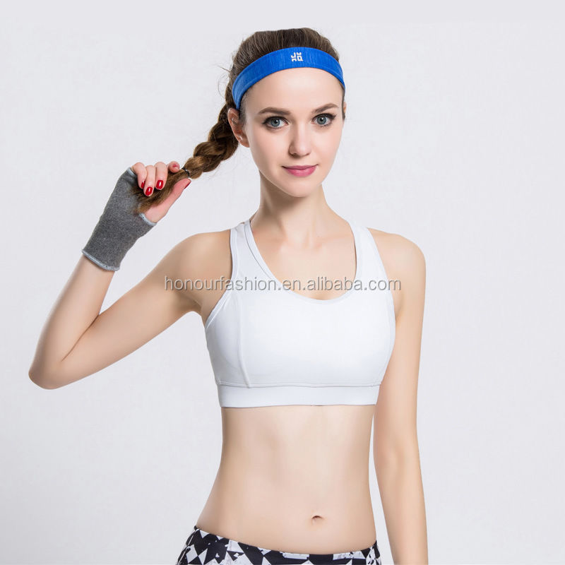 Breathable workout stretch gym fitness running sports bra yoga bra