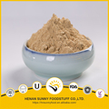 Pure ingredients dried ginger powder yellow color