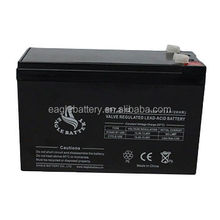 Eagle sealed Maintenance Free UPS battery 12v 7.2ah lead acid battery