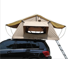 2017 hottest fiberglass car roof top tent optional with Car side awning or mosquito net