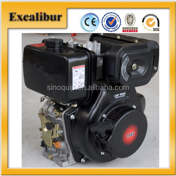 1 cylinder motorcycle diesel engine driven air compressor for Motor driven air compressor