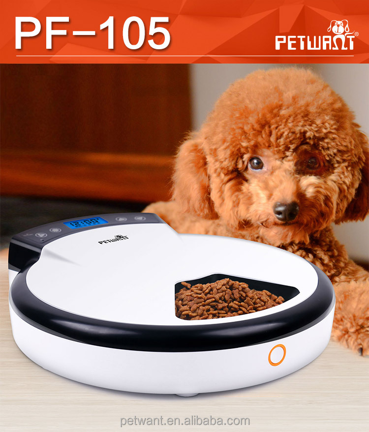 5-Meal Automatic Dog Feeder