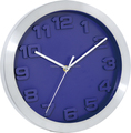 aluminum wall clock with 3D number(HD-400)
