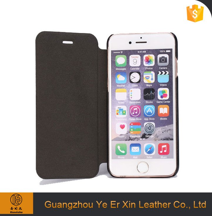 Wholesale free sample protective PU leather mobile phone case cover for iphone 6 6s 7 plus