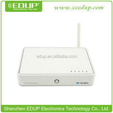 Hot item Cheap price 54Mbps wireless network router wifi Built-in ADSL2+ MODEM