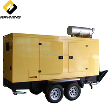China home brand SDEC portable silent mobile trailer power plant 700kva diesel engines generators with Stamford alternator