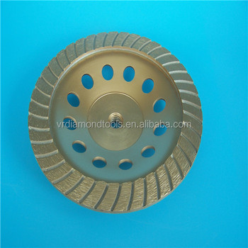 Golden Diamond Cup Grinding Wheel With Good Quality