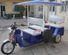 48V India battery power rickshaw,passenger rickshaw, e-rickshaw 3 wheels rickshaw popular