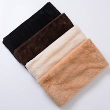 Thick and Warm Winter Women Long Infinity Faux Fur Neckwarmer Polar Fleece Material
