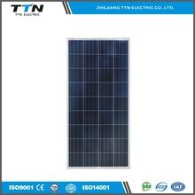 China manufacture High efficient poly pv solar panel 150 Watt for home system