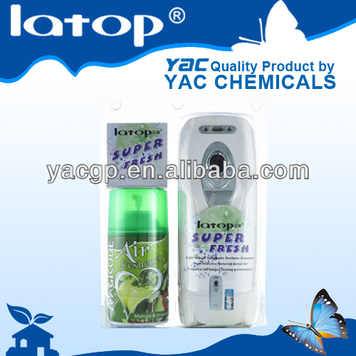 Latest gift set refill air freshener machine air freshener for hospital good price