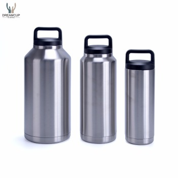 2016 hot selling 18oz 36oz 64oz stainless steel insulated tumbler water bottle