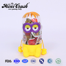 Mini crush brand factory online shopping Assorted Fruit Shaped jelly candy