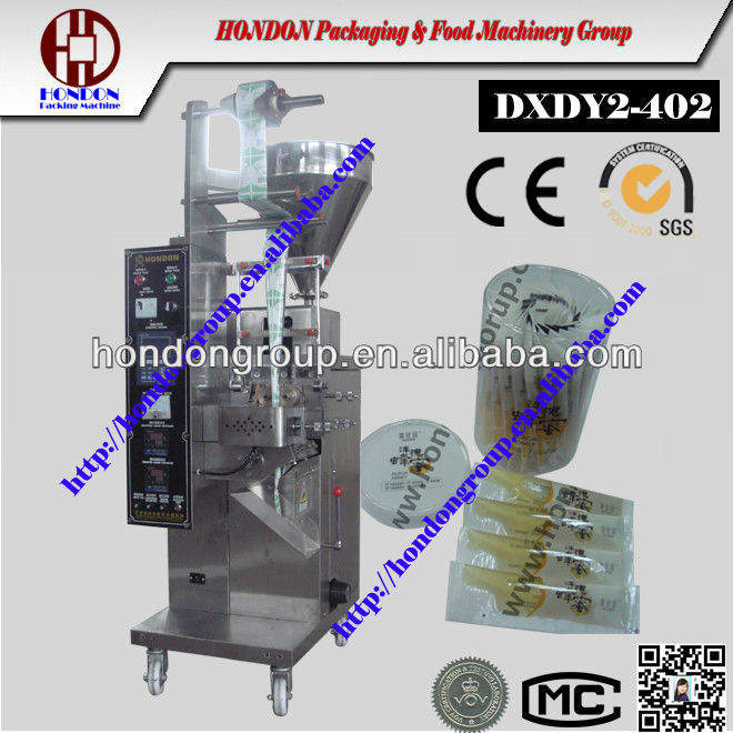 Automatic Sachet Edible Cooking Oil Packaging Machine
