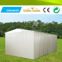 backyard mini house easy to use china car shelter prefab