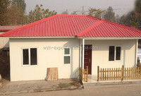 Cheap price 3 bedroom wpc prefab modular house prefab shipping container house for sale
