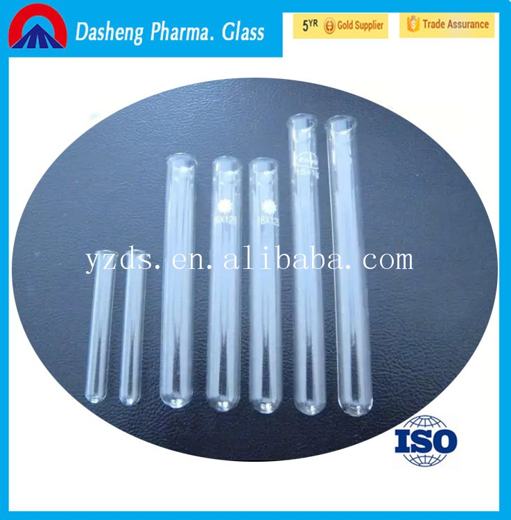 CHINA Dasheng laboratory 12x75 mm glass test tubes