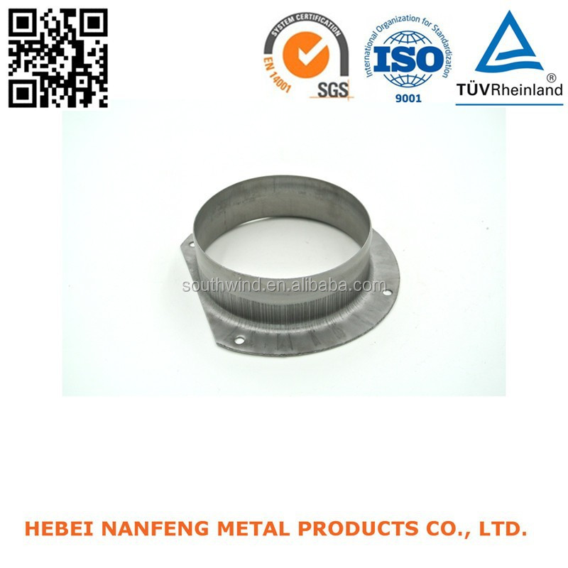 Stamping metal sheet stretching pieces