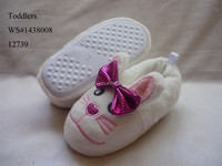 Toddler cheap bow white mouse animal house slippers