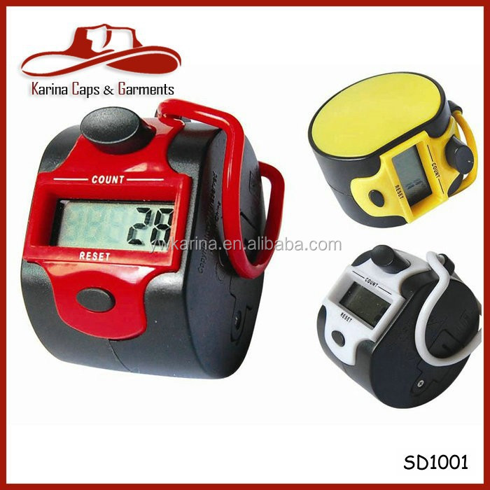 Red Color 5 Digit Electronic LCD Digital Hand Tally Counter