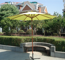 Outdoor Patio Market Umbrella with Tilt & Airvent & Crank