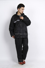 military rainsuit raincoat/ rainsuit- high elasticity polyester raincoat
