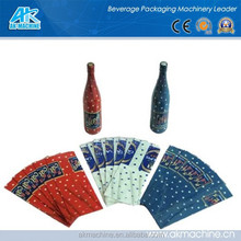 PVC shrink sleeve label for bottles with high quality