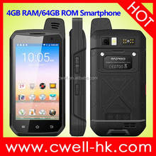 IP68 Waterproof Rugged Mobile Phone 4.7inch Cell