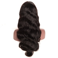 chison hair peruvian human hair body wave 360 lace frontal wig cap