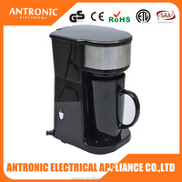 Antronic ATC-CM-111A portable travel single cup coffee maker, coffee pod making machine, espresso pod coffee maker