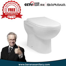 Indian Toilet Type Manufacture China Suppliers Toilet Pots With Free Fitting Western Toilet Factory