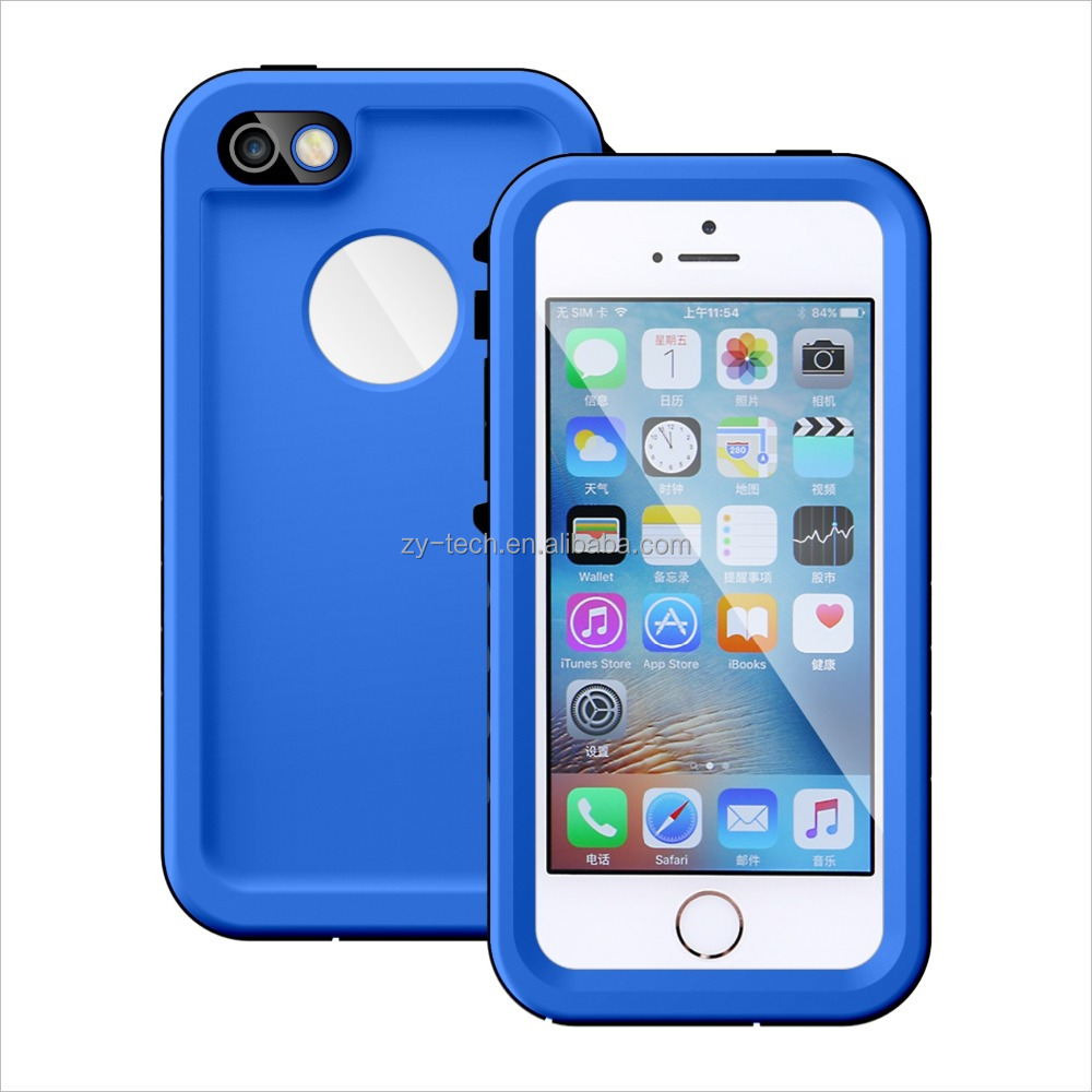 Latest ultra thin protective case full body waterproof case for iphone SE 5S