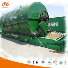 waste tire rubber pyrolysis plant recycling fuel oil from rubber raw materials