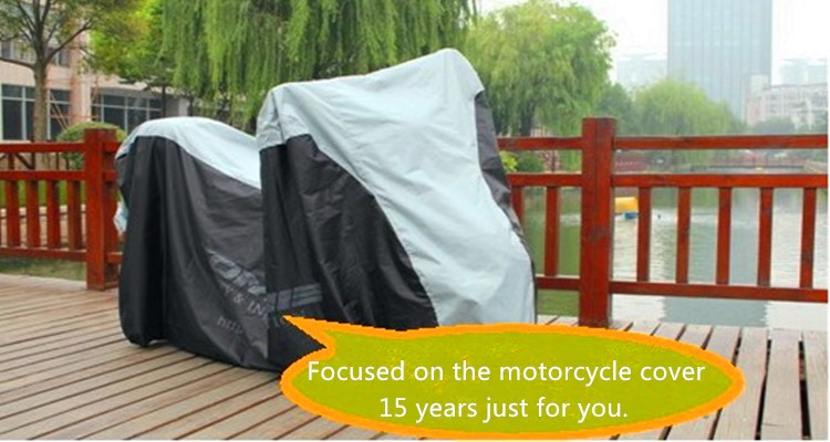 newly fiberglass motorcycle cover/uv protective with high quality and free sample